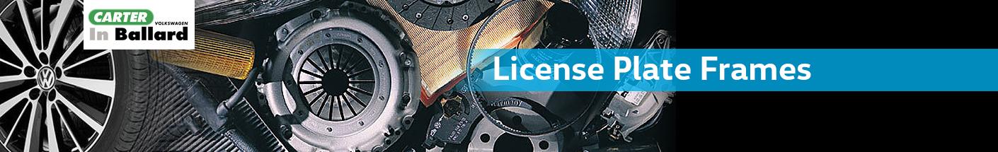Genuine Volkswagen License Plate Frames in Seattle, WA