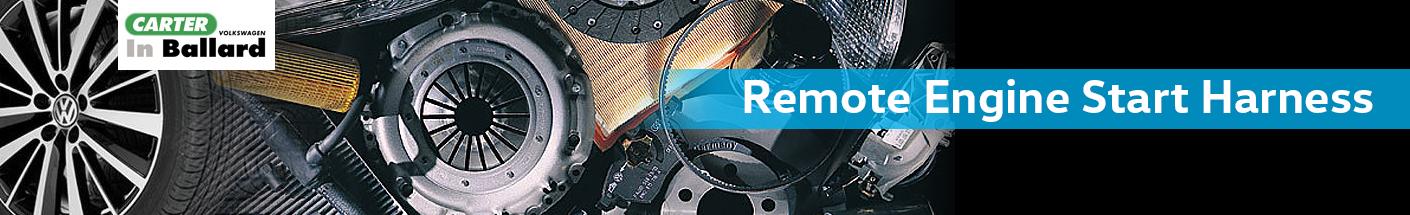 Genuine Volkswagen Remote Start Harness Parts Information in Seattle, WA