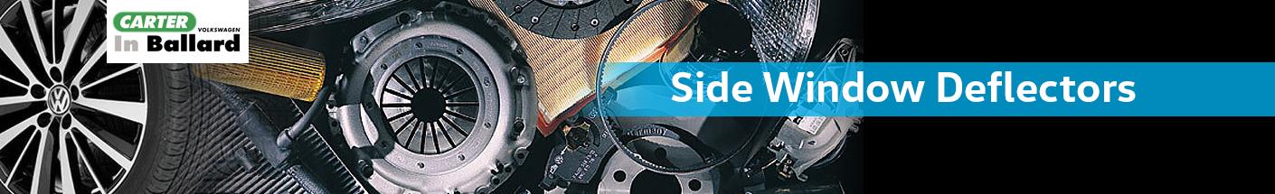 Genuine Volkswagen Side Window Deflectors Parts Information in Seattle, WA