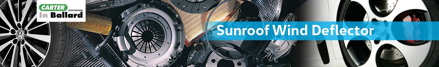Genuine Volkswagen Sunroof Wind Deflector Parts Information in Seattle, WA