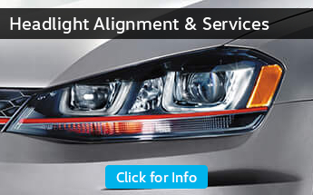 Click to View Our Volkswagen Headlight Services information page in Seattle, WA
