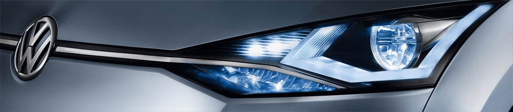 Schedule our headlight polish & restoration service at Carter Volkswagen In Ballard