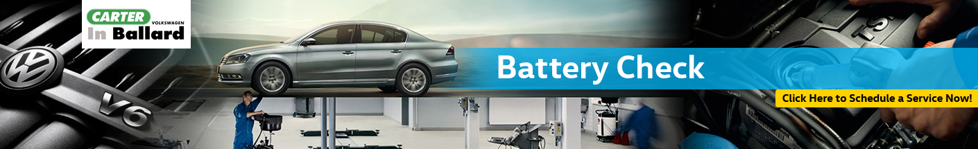 Volkswagen Battery Check Service Information in Seattle, WA