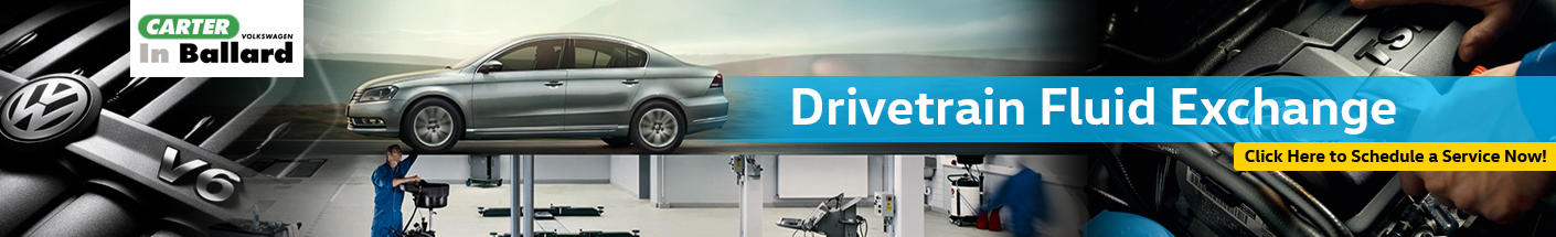 Volkswagen Drivetrain Fluid Exchange Interior & Exterior Repair Information in Seattle, WA