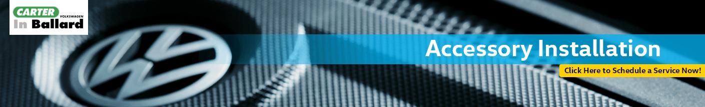 Volkswagen Dealer-Installed Accessories Information in Seattle, WA