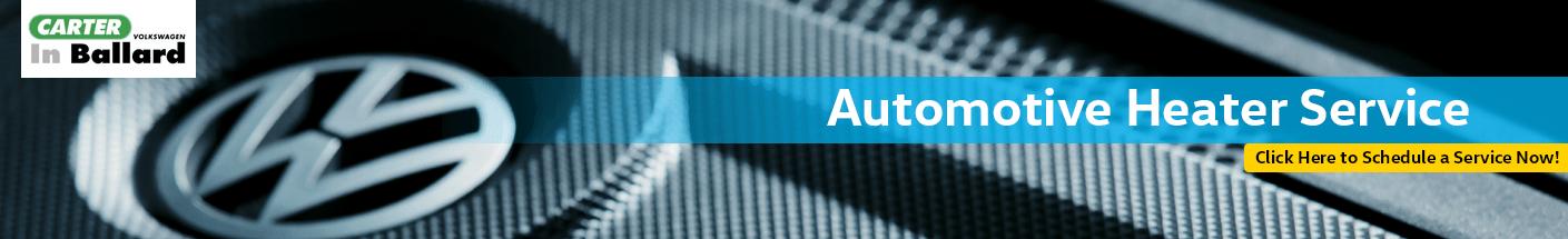 Car Heater and Defroster Repair Information at Carter Volkswagen In Ballard