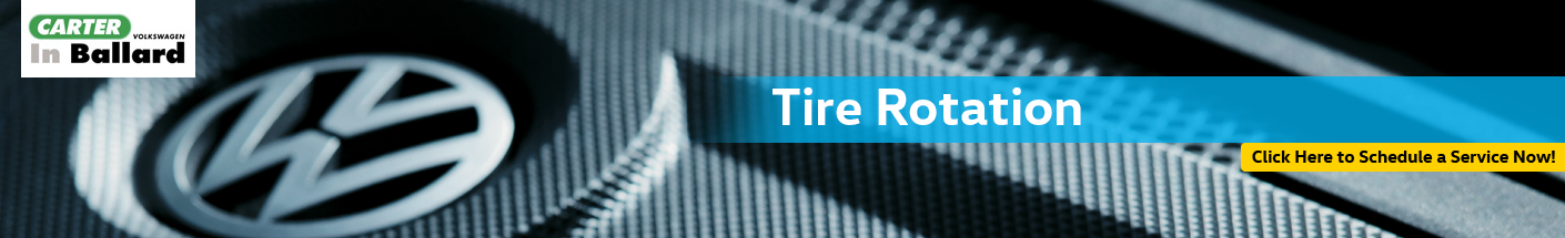 Volkswagen Tire Rotation Service Serving Renton, WA