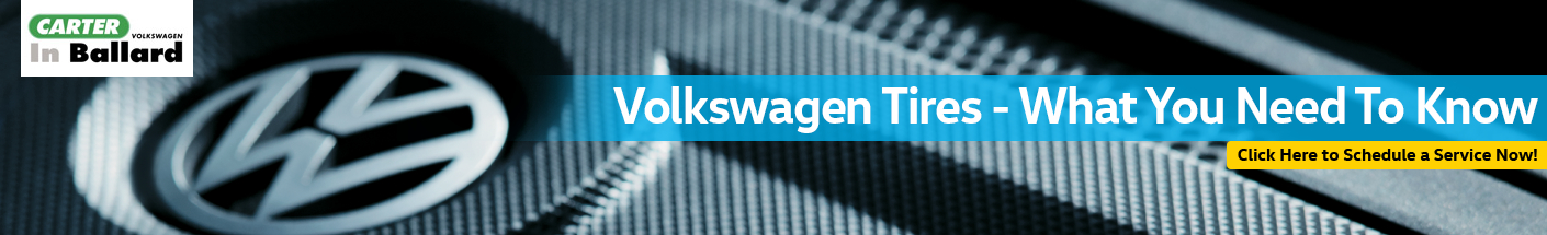 Volkswagen Tire Selection Service Information in Seattle, WA