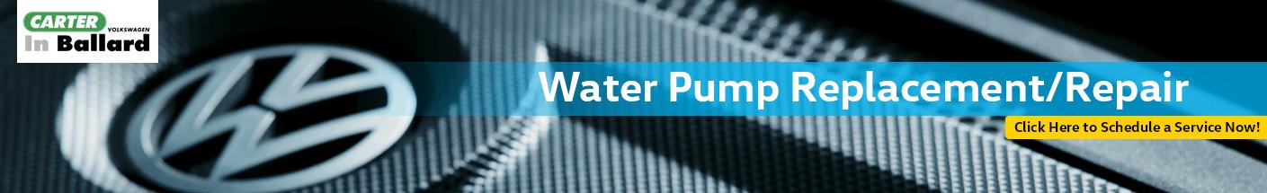 Water Pump Repair & Replacement Information at Carter Volkswagen In Ballard