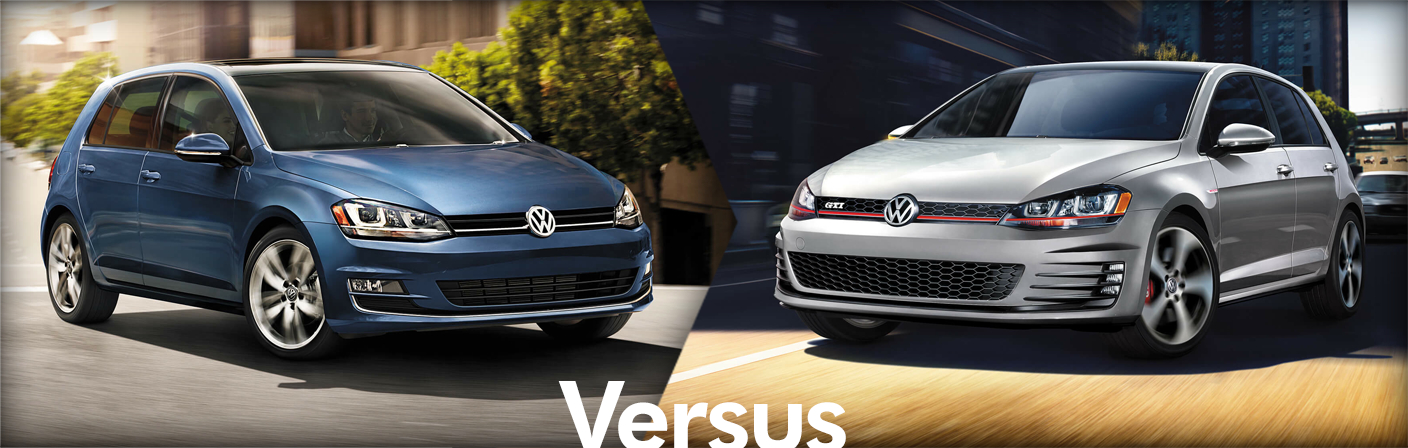 2015 Volkswagen Golf VS 2015 Volkswagen Golf GTI Comparison Model Information