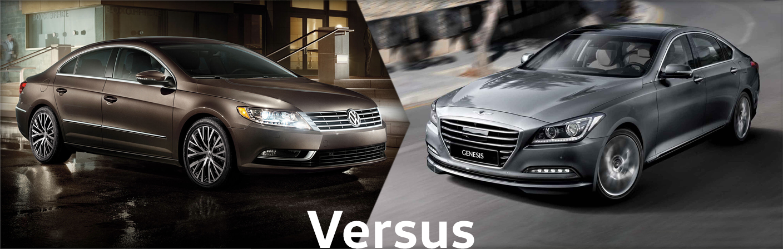 2015 Volkswagen CC VS Hyundai Genesis Comparison Details & Features