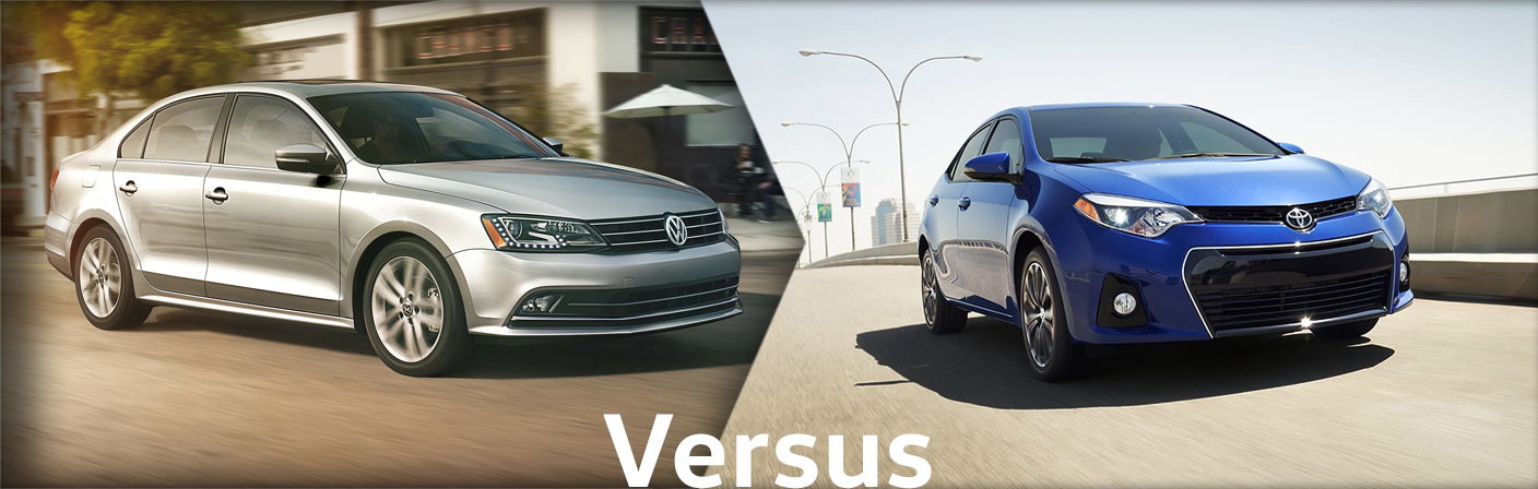 2015 Volkswagen Jetta VS Toyota Corolla Comparison Details & Features