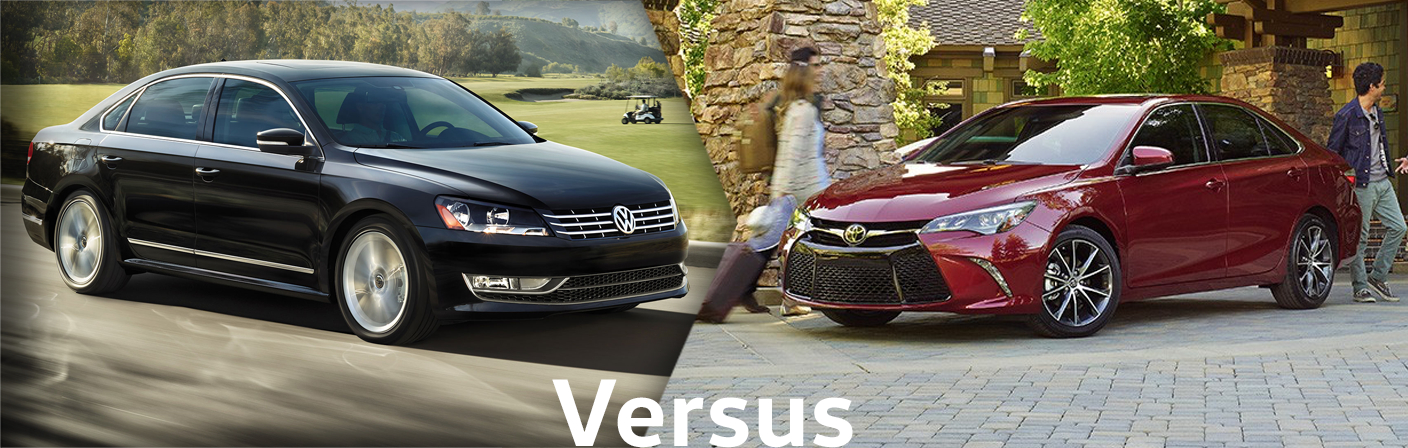 2015 Volkswagen Passat VS Toyota Camry Comparison Details & Features