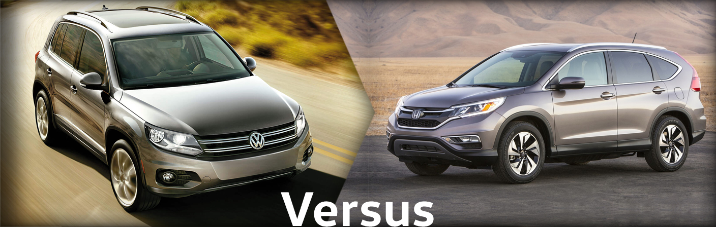 2015 Volkswagen Tiguan Vs Honda Crv Comparison Information