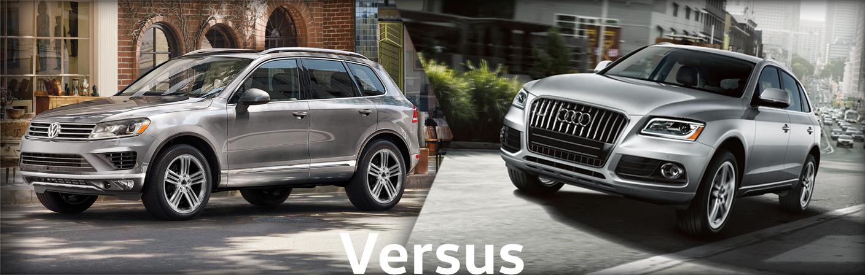 2015 Volkswagen Touareg VS Audi Q5 Comparison Information
