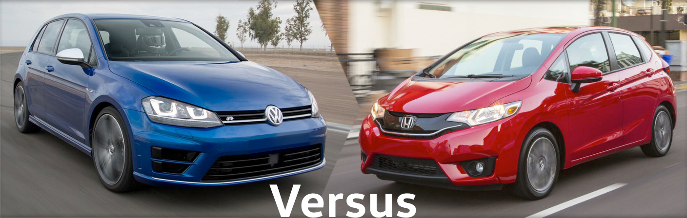 2016 Volkswagen Golf vs 2016 Honda Fit Comparison Details & Features