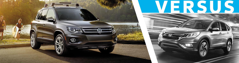 2016 Volkswagen Tiguan VS Honda CR-V Comparison Details & Features