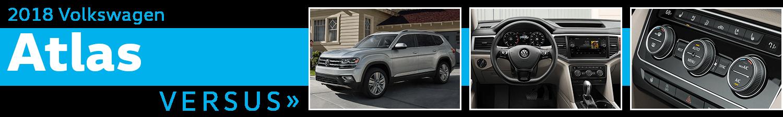 2018 Volkswagen Atlas vs Competitive Makes & Models