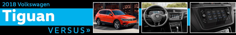 2018 Volkswagen Tiguan vs Competitive Makes & Models