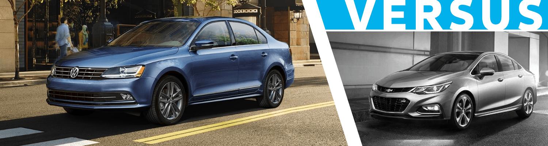 2018 Volkswagen Jetta vs Chevrolet Cruze  Comparison Model Research