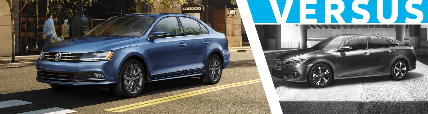 2018 Volkswagen Jetta vs Honda Civic  Comparison Model Research