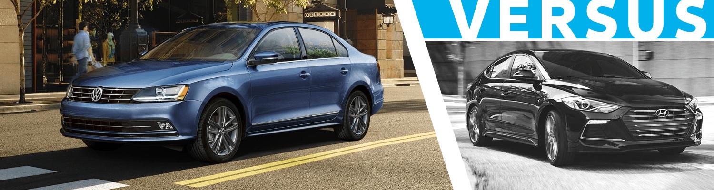 2018 Volkswagen Jetta vs Hyundai Elantra  Comparison Model Research