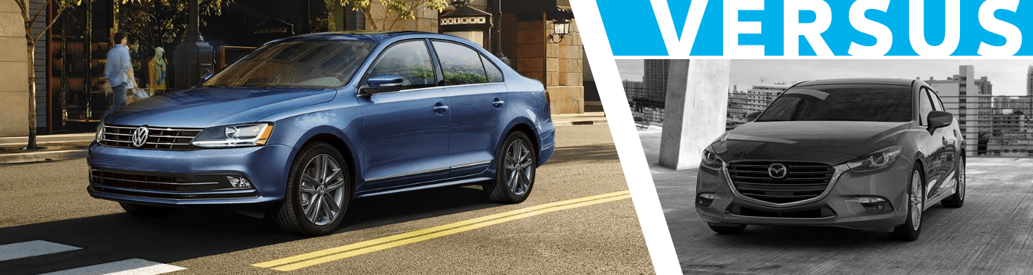 2018 Volkswagen Jetta VS 2018 Mazda3 Comparison Information
