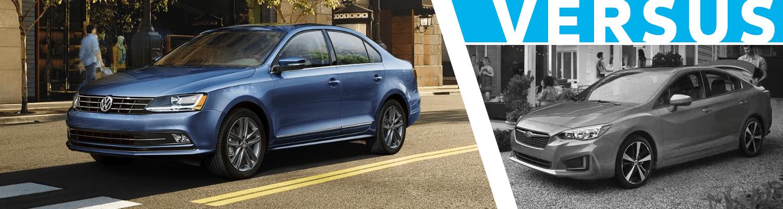 2018 Volkswagen Jetta vs Subaru Impreza  Comparison Model Research