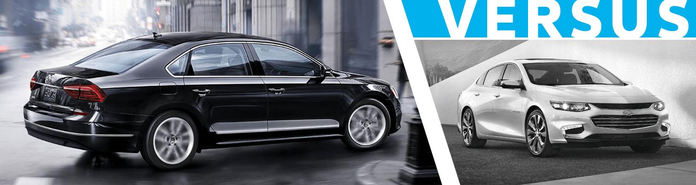 2018 Volkswagen Passat vs Chevrolet Malibu  Comparison Model Research