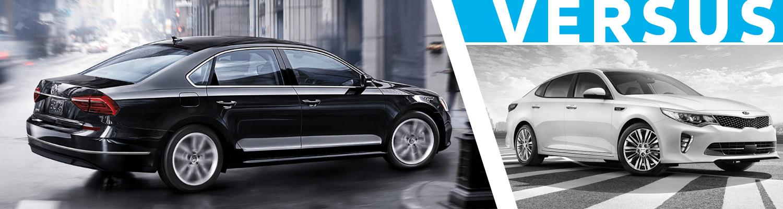 Compare the 2018 Volkswagen Passat & 2018 KIA Optima Models