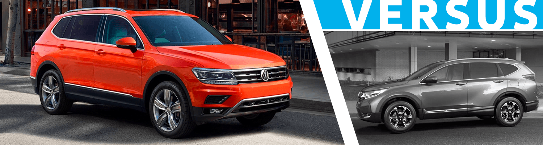 2018 Volkswagen Tiguan vs Honda CR-V Comparison Model Research