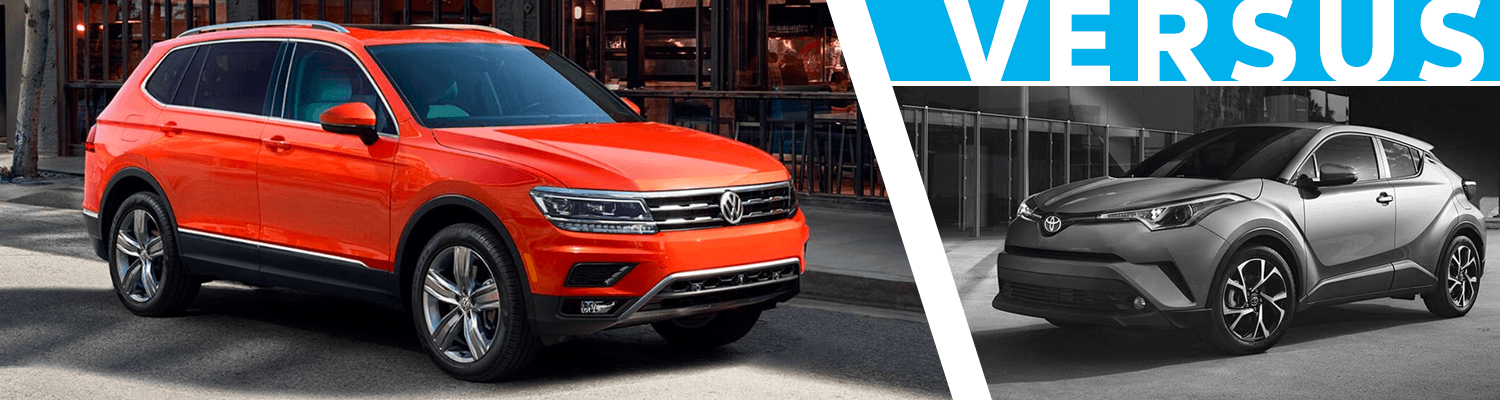 2018 Volkswagen Tiguan vs Toyota C-HR Comparison Model Research
