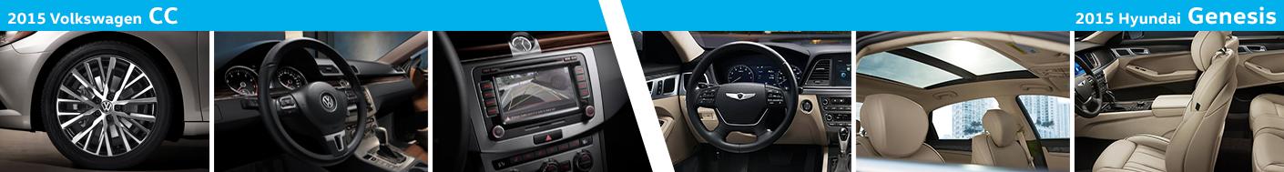 2015 Volkswagen CC Interior Styling