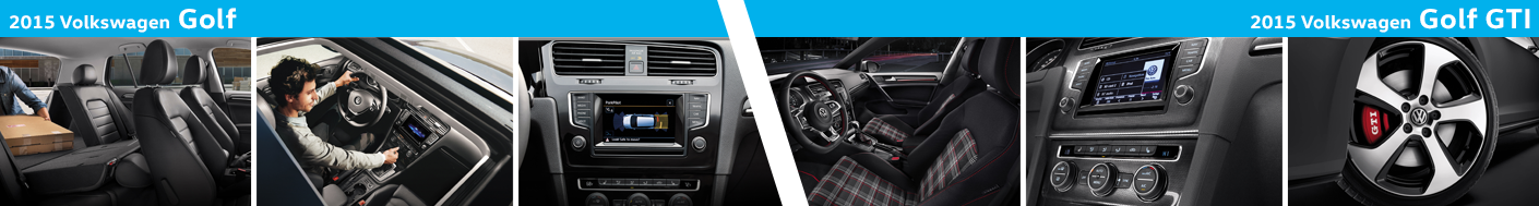 2015 VW Golf Interiors at Carter Volkswagen in Ballard