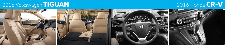 2016 Volkswagen Tiguan VS Honda CR-V Model Interior Styling Compared