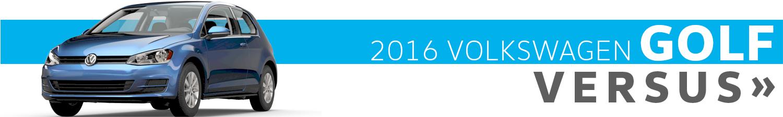Compare the 2016 Volkswagen Golf