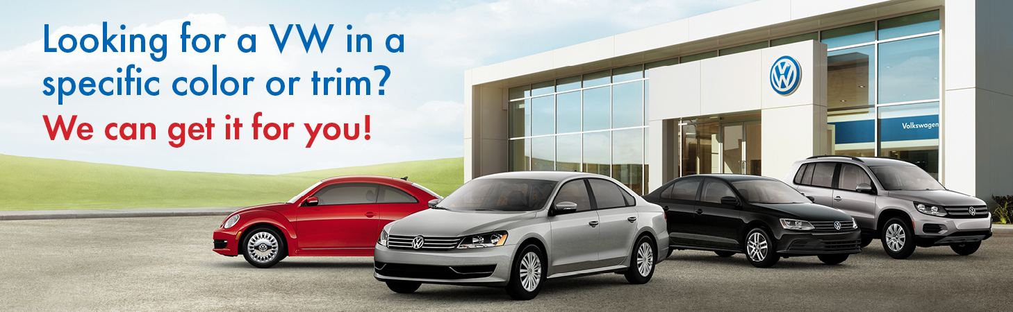 We'll Help You Find The Volkswagen You're Looking For!