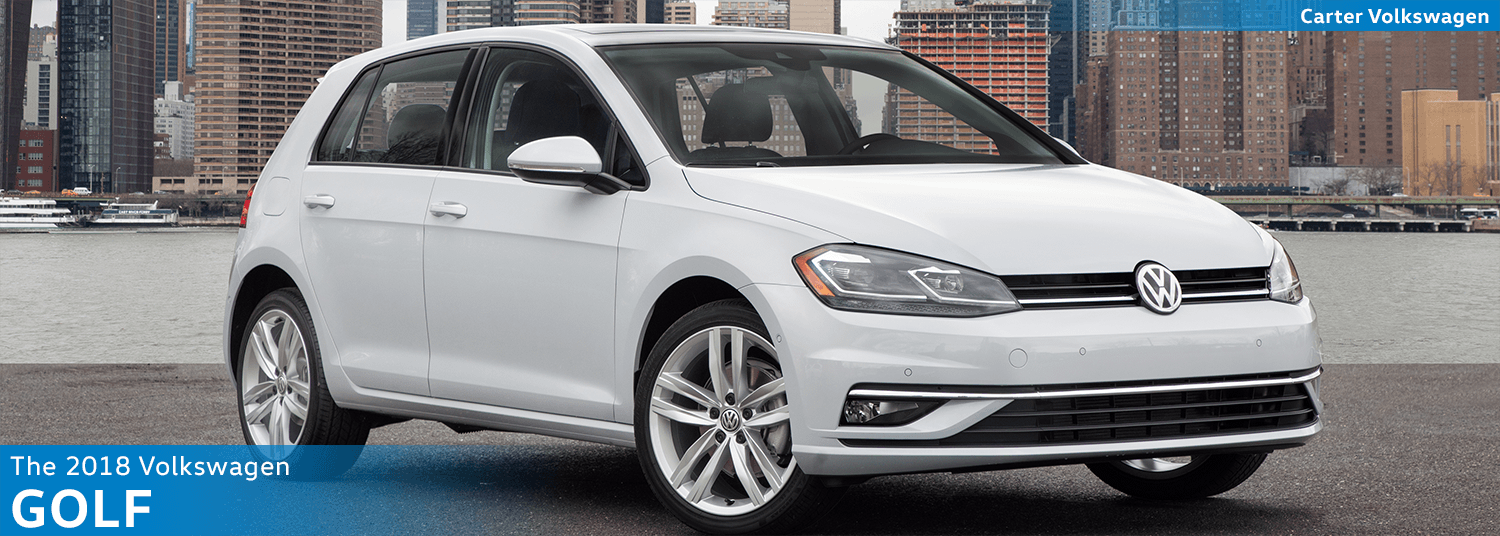 Research the new 2018 Volkswagen Golf Model Features & Details