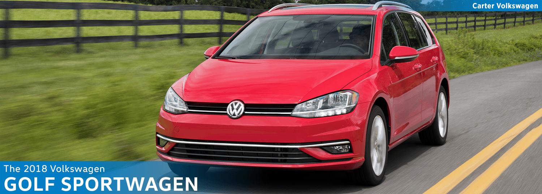 Research the new 2018 Volkswagen Golf Sportwagen Model Features & Details