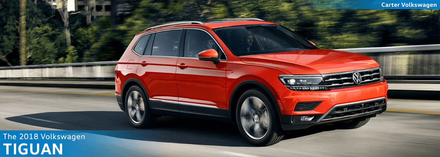 Research the new 2018 Volkswagen Tiguan Model Features & Details