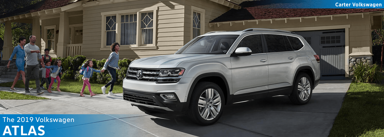 Research the new 2019 Volkswagen Atlas SUV Model Features & Details