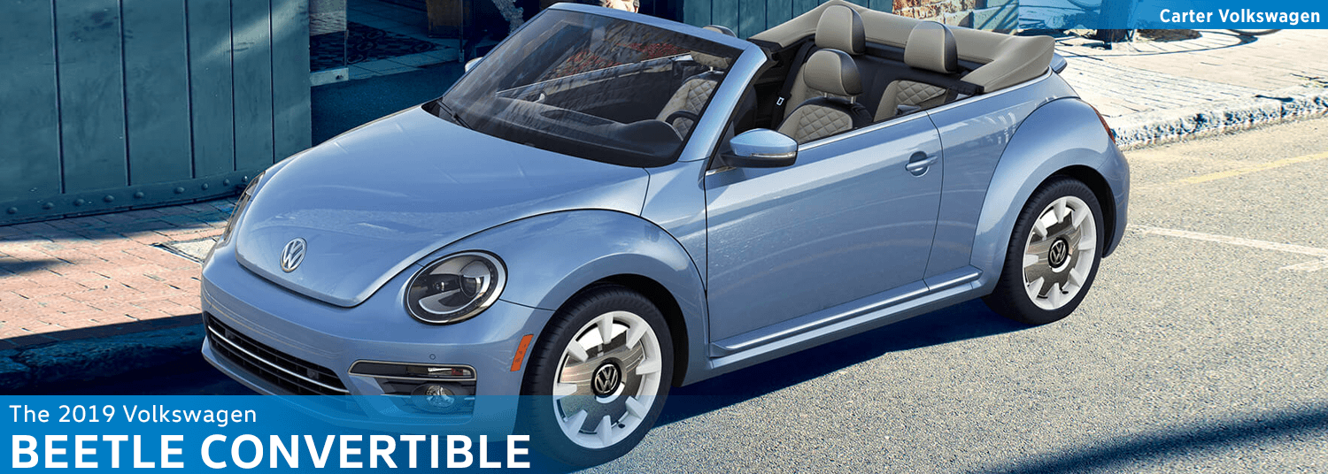 Research the new 2019 Volkswagen Beetle Convertible Model Features & Details