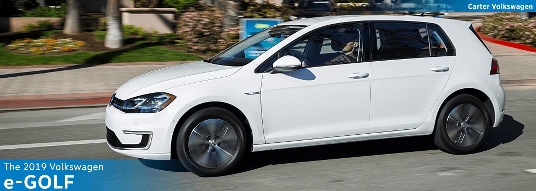 2019 Volkswagen e-Golf Model Details in Seattle, WA