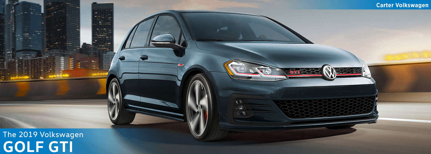 2019 Golf GTI Model Information at Carter Volkswagen in Seattle, WA