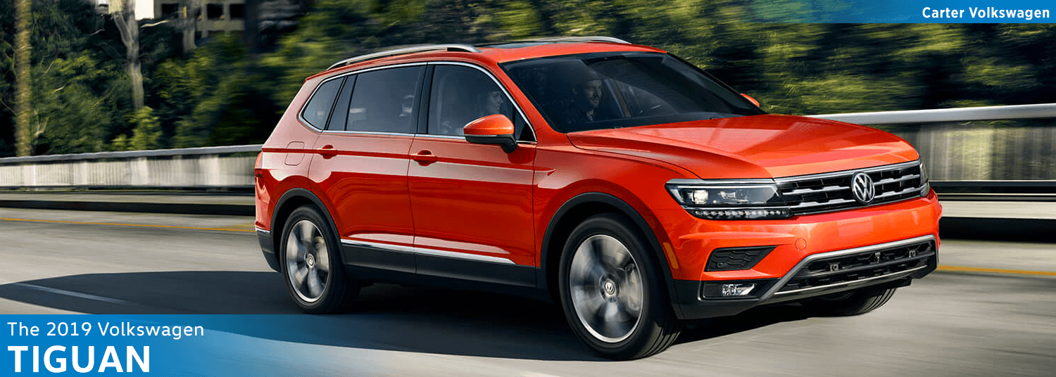 Research the new 2019 Volkswagen Tiguan Model Features & Details