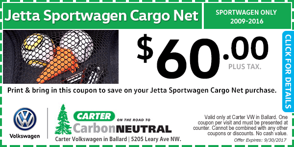 Volkswagen Jetta Sportwagen Cargo Net Special Seattle, Washington
