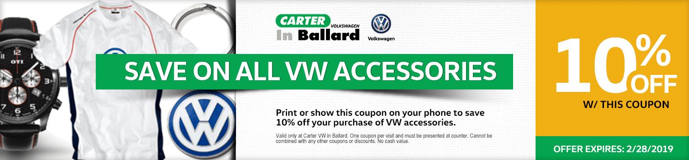 Volkswagen Accessories Special Seattle, Washington