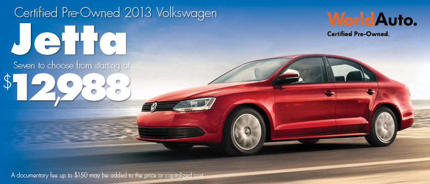 See our Certified Pre-Owned Jetta inventory in Seattle, WA - get your best deal on a quality Volkswagen at Carter Volkswagen in Ballard