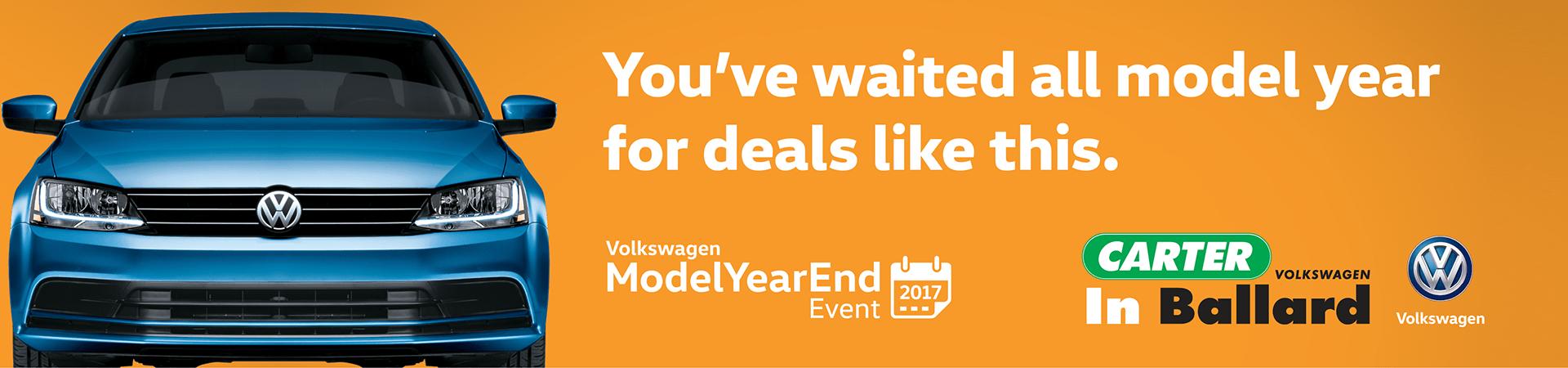 Volkswagen Model Year End Event at Carter Volkswagen
