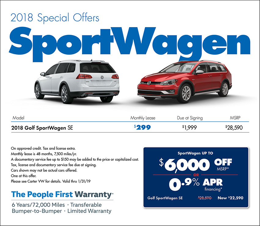 New Volkswagen Specials At Your Seattle Vw Dealer